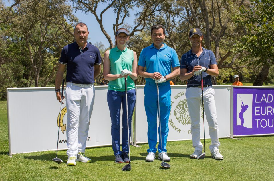 Participation de Son Altesse Royale Le Prince Moulay Rachid au Pro Am CLM