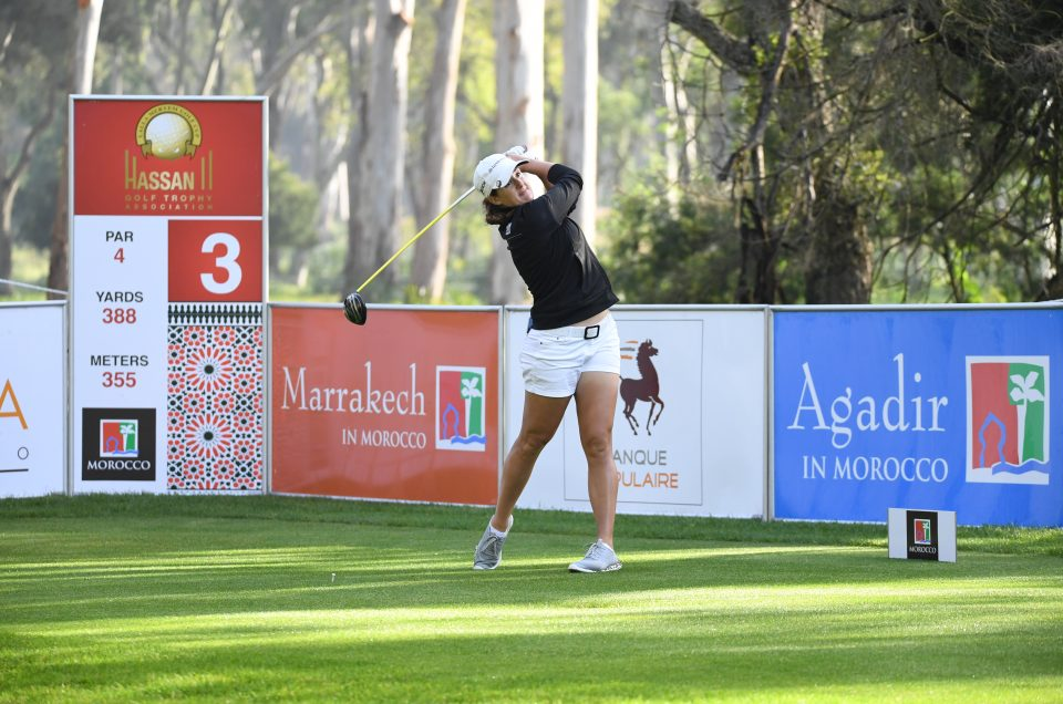 Lalla Meryem Cup: Nicole Garcia takes the lead of the Opening Round