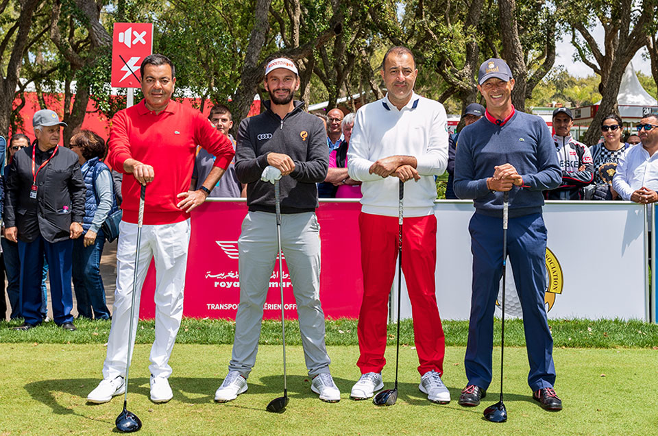 Participation de Son Altesse Royale Le Prince Moulay Rachid au Pro Am du THII