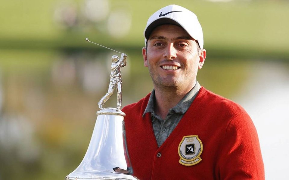 The Italian Francesco Molinari won the Arnold Palmer by making a card of 64