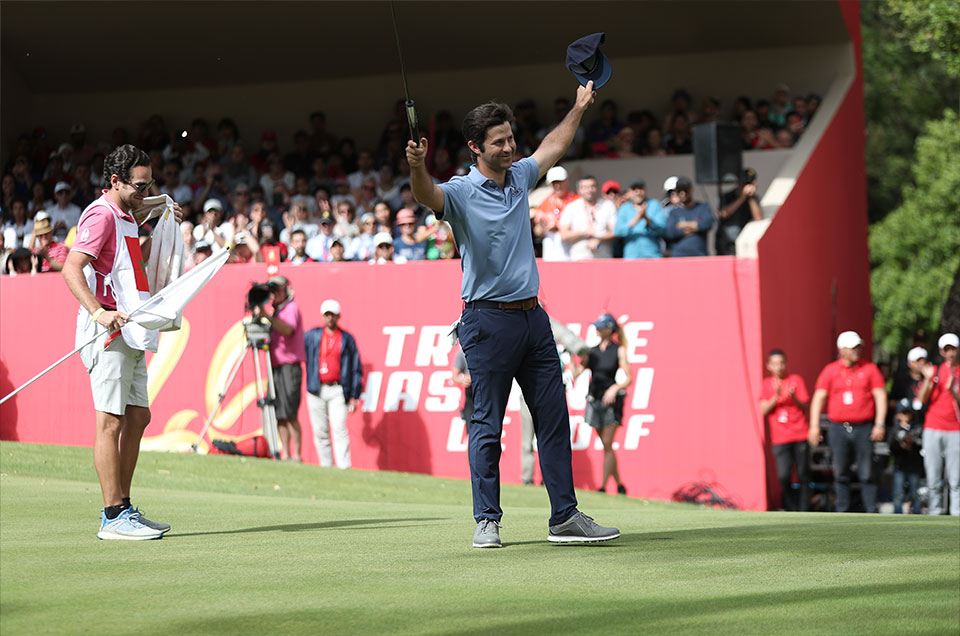 The spanish golfer Jorge Campillo wins the 2019 Hassan II Trophy and signs his first professional victory after 8 seasons on the European circuit