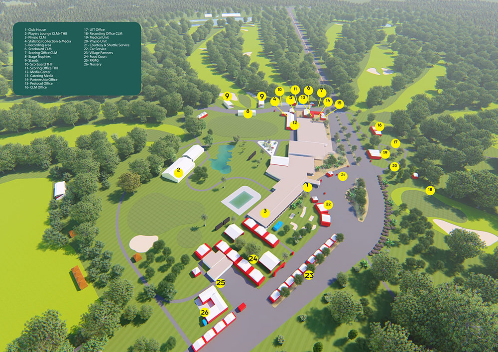 Discover the animated Village – Hassan 2 Golf Trophy