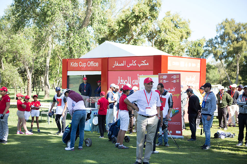 2nd Edition – Kids Cup On the green course of the Royal Golf Dar Es Salam in Rabat